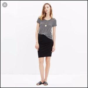 Madewell City Skirt